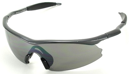 Angle of SW Kid's Style #9101 in Grey Frame, Women's and Men's