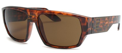 Angle of SW Retro Style #8724 in Tortoise Frame, Women's and Men's