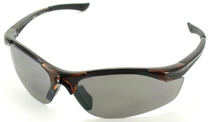 Angle of SW Sport Style #1948 in Brown Frame, Women's and Men's
