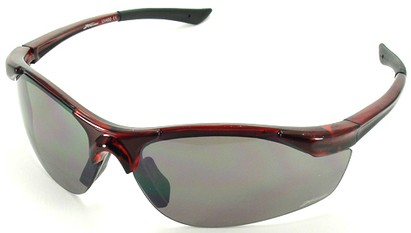 Angle of SW Sport Style #1948 in Red Frame, Women's and Men's