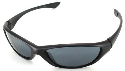 Angle of SW Sport Style #3163 in Black Frame, Women's and Men's