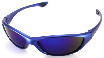 Angle of SW Sport Style #3163 in Blue Frame, Women's and Men's