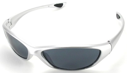 Angle of SW Sport Style #3163 in Silver Frame, Women's and Men's