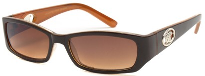Angle of SW Fashion Style #3484 in Brown Frame, Women's and Men's