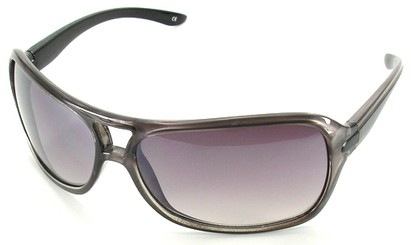 Angle of SW Aviator Style #501 in Grey Frame, Women's and Men's