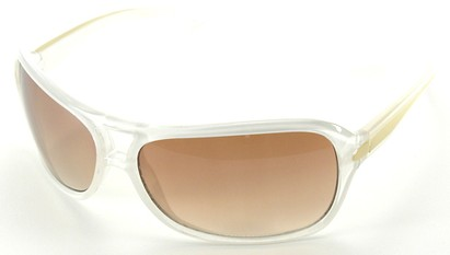 Angle of SW Aviator Style #501 in White Frame, Women's and Men's