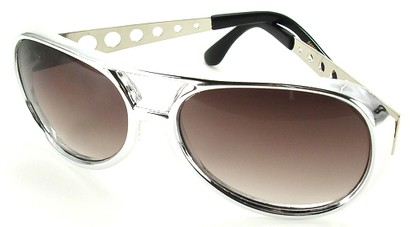 Angle of SW Fashion Style #231 in Silver Frame, Women's and Men's