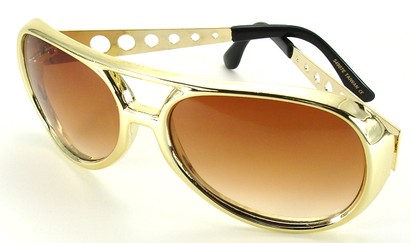 Angle of SW Fashion Style #231 in Gold Frame, Women's and Men's
