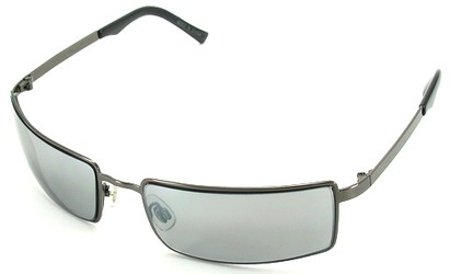 Angle of SW Metal Style #214 in Gray Frame, Women's and Men's