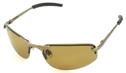 Angle of SW Polarized Style #1945 in Bronze Frame, Women's and Men's