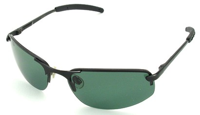 Angle of SW Polarized Style #1945 in Black Frame, Women's and Men's