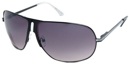Angle of SW Aviator Style #1178 in Black and White Frame, Women's and Men's