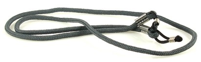 Angle of Sunglasses Neck Cord #101 - Gray in Gray, Women's and Men's