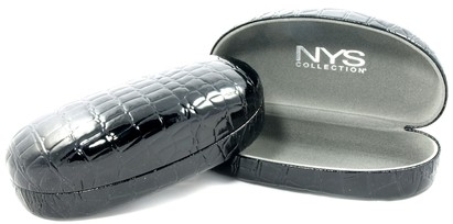 Angle of Large Black  Dome Case #917 in Large Black Dome Case #917, Women's and Men's