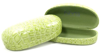 Angle of Large Lime Green Dome Case #917 in Large Lime Green Dome Case #917, Women's and Men's