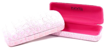 Angle of Medium Pink Rectangle Case #915 in Medium Pink Rectangle Case #915, Women's and Men's