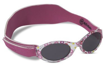 Angle of SW ABC Infant Sunglasses #202 in Pink Daisy, Women's and Men's
