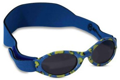 Angle of SW ABC Infant Sunglasses #202 in Blue Ducks, Women's and Men's