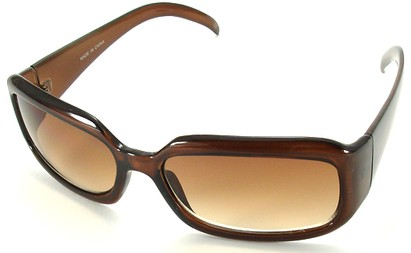 Angle of SW Fashion Style #1463 in Dark Brown Frame, Women's and Men's