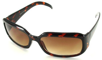 Angle of SW Fashion Style #1463 in Tortoise Frame, Women's and Men's