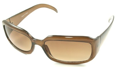 Angle of SW Fashion Style #1463 in Light Brown Frame, Women's and Men's