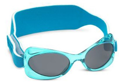 Angle of SW Just For Girls Sunglasses #203 in Aqua Frame, Women's and Men's