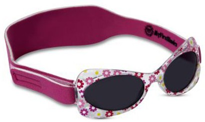 Angle of SW Just For Girls Sunglasses #203 in Pink Daisy, Women's and Men's