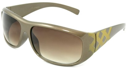 Angle of SW Fashion Style #2714 in Gold Frame, Women's and Men's