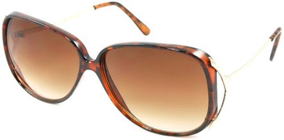 Angle of SW Oversized Style #503 in Tortoise Frame, Women's and Men's
