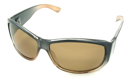 Angle of SW Polarized Style #45 in Brown Fade Frame, Women's and Men's