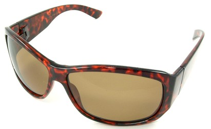 Angle of SW Polarized Style #45 in Tortoise Frame, Women's and Men's