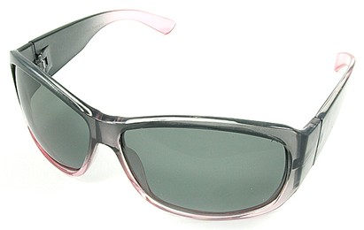 Angle of SW Polarized Style #45 in Pink Fade Frame, Women's and Men's