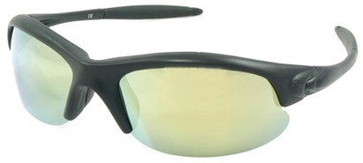 Angle of SW Polarized Style #5137 in Black Frame with Yellow Lenses, Women's and Men's