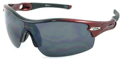 Angle of SW Sport Style #1938 in Red Frame, Women's and Men's