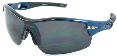 Angle of SW Sport Style #1938 in Blue Frame, Women's and Men's