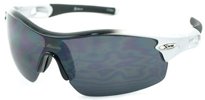 Angle of SW Sport Style #1938 in Black/Silver Fade Frame, Women's and Men's