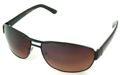 Angle of SW Aviator Driving Style #223 in Black Frame, Women's and Men's