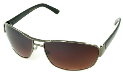 Angle of SW Aviator Driving Style #223 in Gray Frame, Women's and Men's
