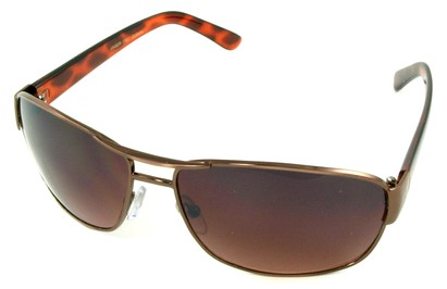 Angle of SW Aviator Driving Style #223 in Copper Frame, Women's and Men's