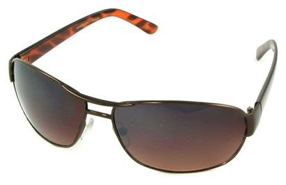 Angle of SW Aviator Driving Style #223 in Bronze Frame, Women's and Men's