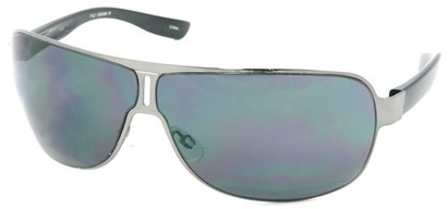 Angle of SW Aviator Style #1956 in Silver Frame, Women's and Men's
