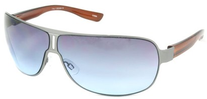 Angle of SW Aviator Style #1956 in Gray Frame, Women's and Men's