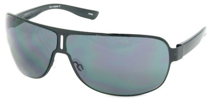 Angle of SW Aviator Style #1956 in Black Frame, Women's and Men's