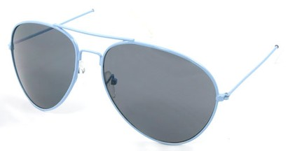 Angle of SW Neon Aviator Style #234 in Blue Frame, Women's and Men's