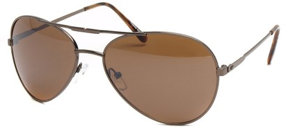 Angle of SW Aviator Style #435 in Copper Frame, Women's and Men's