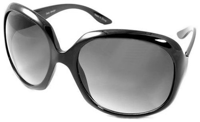 Angle of SW Celebrity Style #511 in Black Frame, Women's and Men's