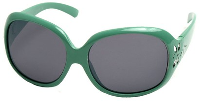 Angle of SW Kid's Style #521 in Green Frame, Women's and Men's