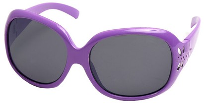 Angle of SW Kid's Style #521 in Purple Frame, Women's and Men's