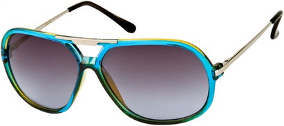 Angle of SW Aviator Style #540433 in Blue, Women's and Men's