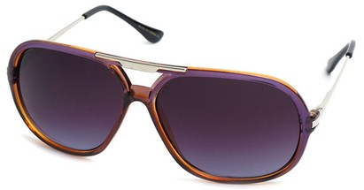 Angle of SW Aviator Style #540433 in Purple Orange, Women's and Men's